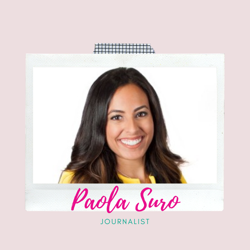 Graphic links to a video of Paola Suro, the emcee for Young Women LEAD Live!