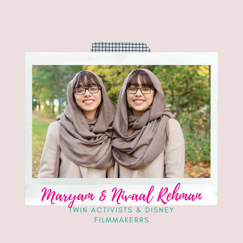 Graphic links to a video of Maryam and Nivaal Rehman, who are role models for girls nationwide.